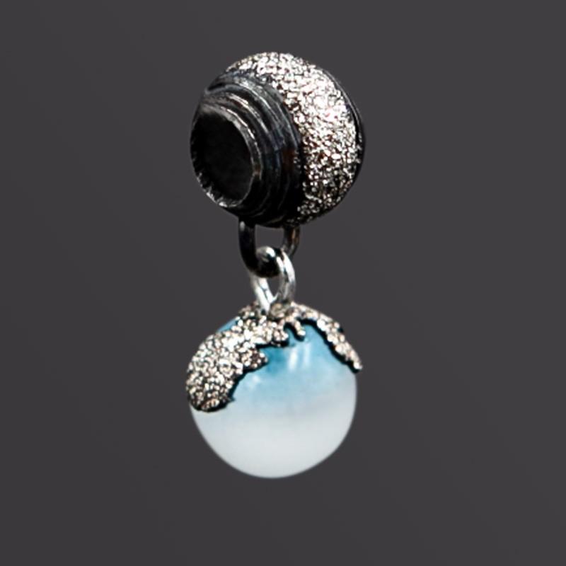 Charm Diamantato Blu Edition Argento 925 Brunito