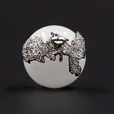 Perla dell'Elba Argento 925 Brunito Diamantato